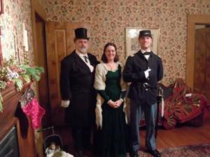 """""""Wisner Family"""" Portrait - OCPHS 2010 Victorian Open House"""