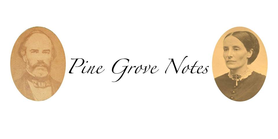 Pine Grove Notes: Oakland County Pioneer Society