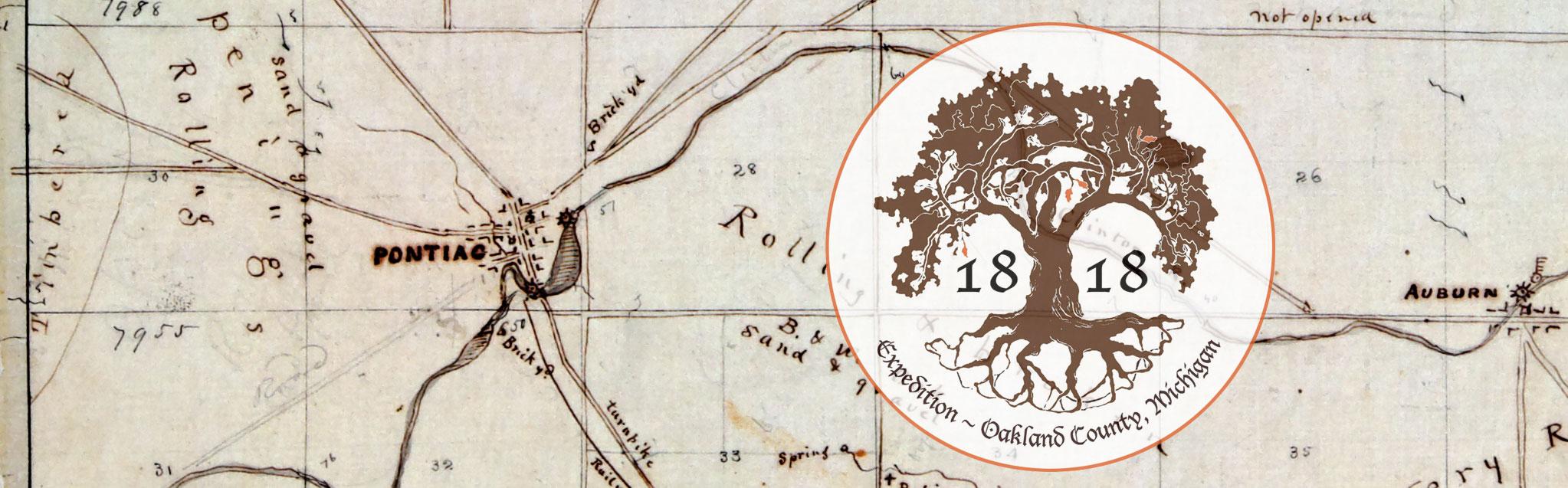 1818 Expedition and the Original Pontiac Plan