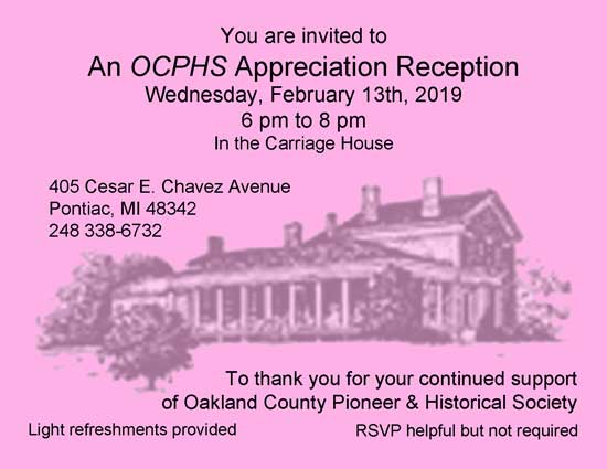 OCPHS Appreciation Reception