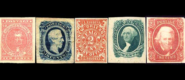 Confederate Postage in the Civil War – Tom Nelson