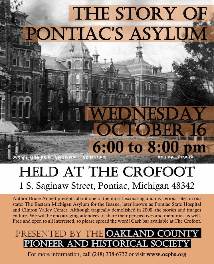 The Story of Pontiac's Asylum